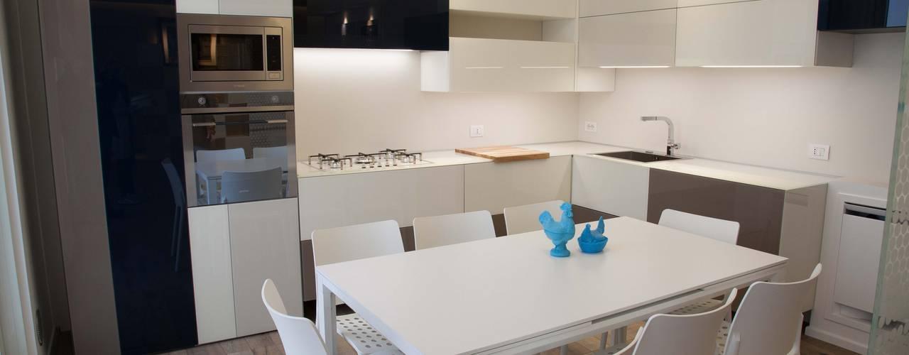 art house Cucina moderna di G/G associati studio di ingegneria e architettura _ing.r.guglielmi_arch.a.grossi Moderno