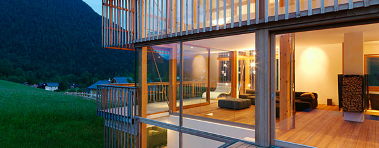 Eclectic style windows & doors by KAPO Fenster und Türen GmbH Eclectic