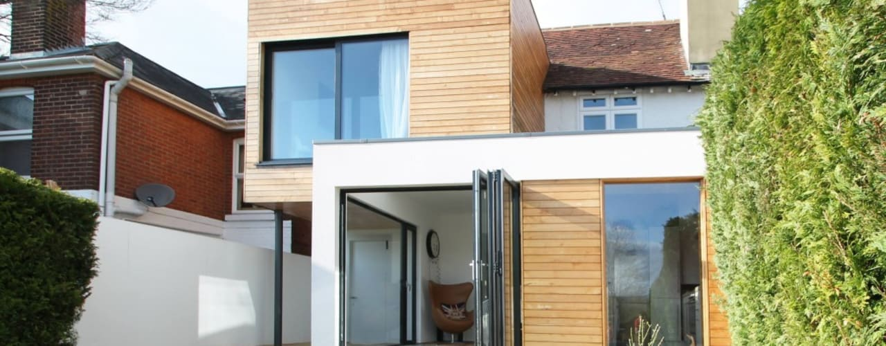 The Cube, Winchester Modern houses by Adam Knibb Architects Modern