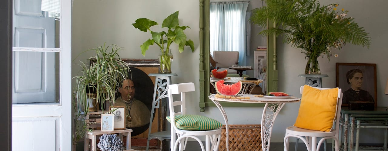 Comedores de estilo mediterráneo de Casa Josephine Mediterráneo
