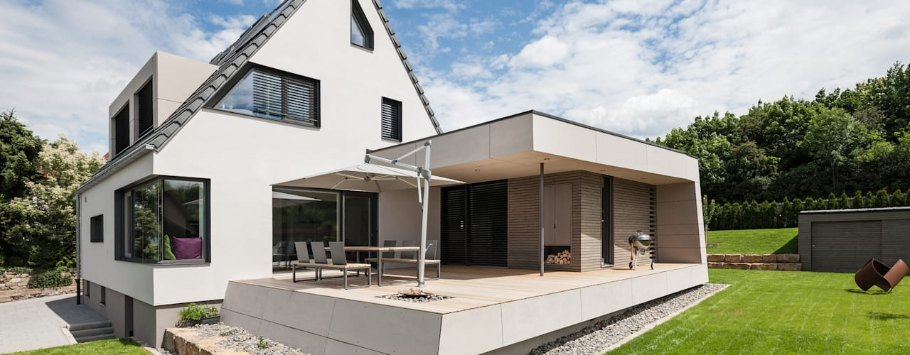 Modern houses by wukowojac architekten Modern