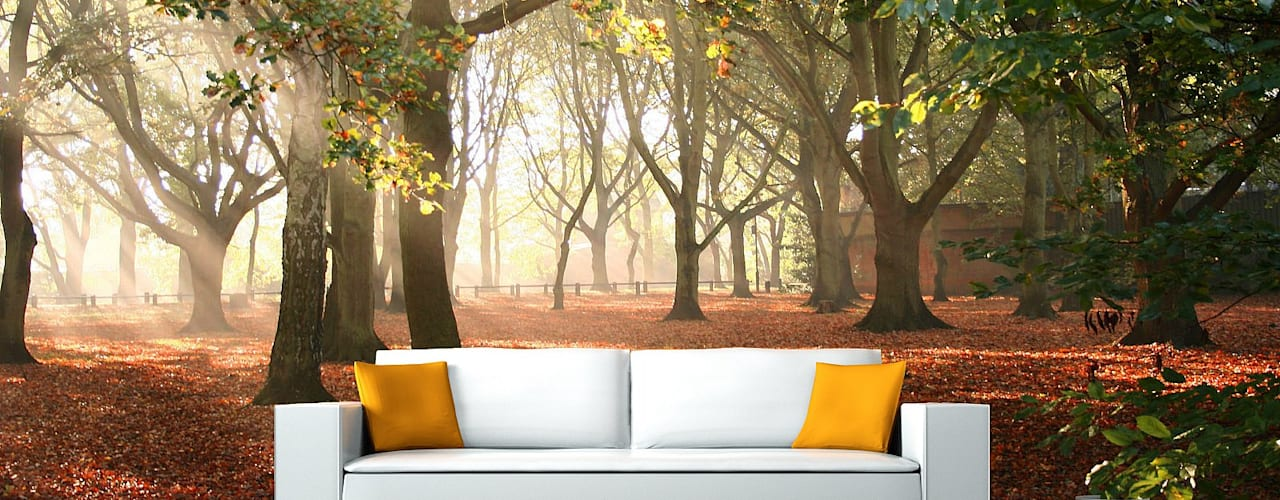 Living room by AKDENİZ TADİLAT DEKORASYON