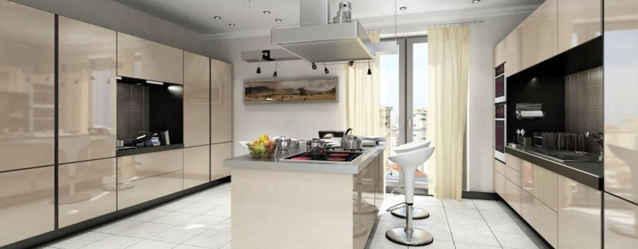 Kitchen by MONO MİMARLIK İNŞAAT, Modern