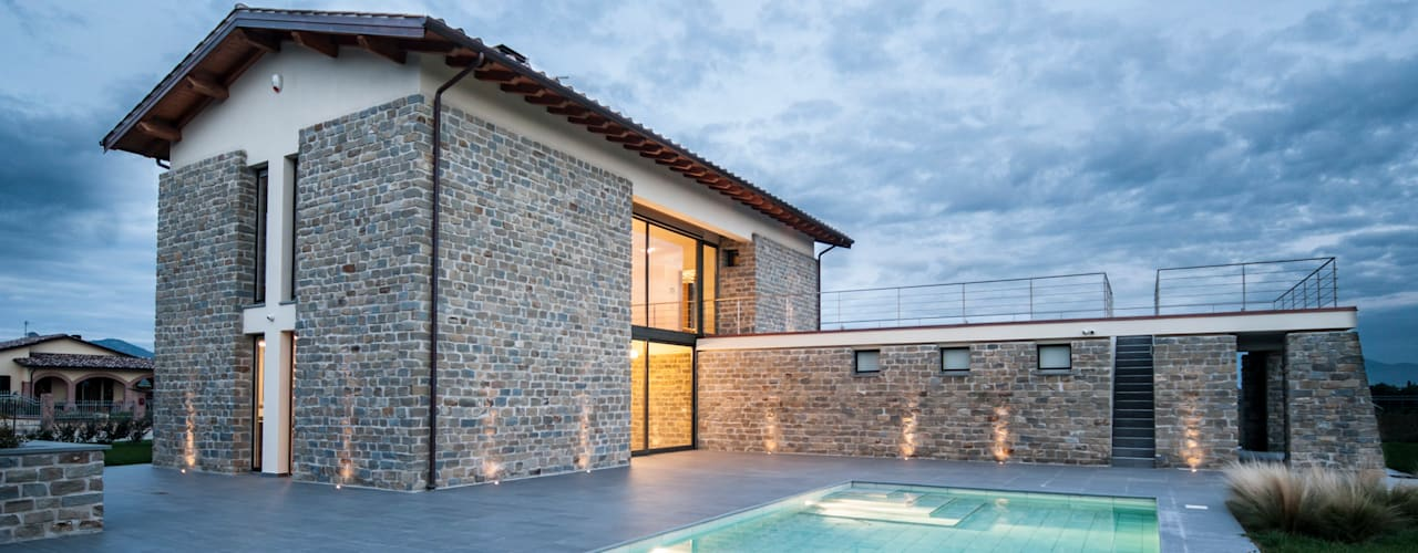 Modern houses by Fabricamus - Architettura e Ingegneria Modern