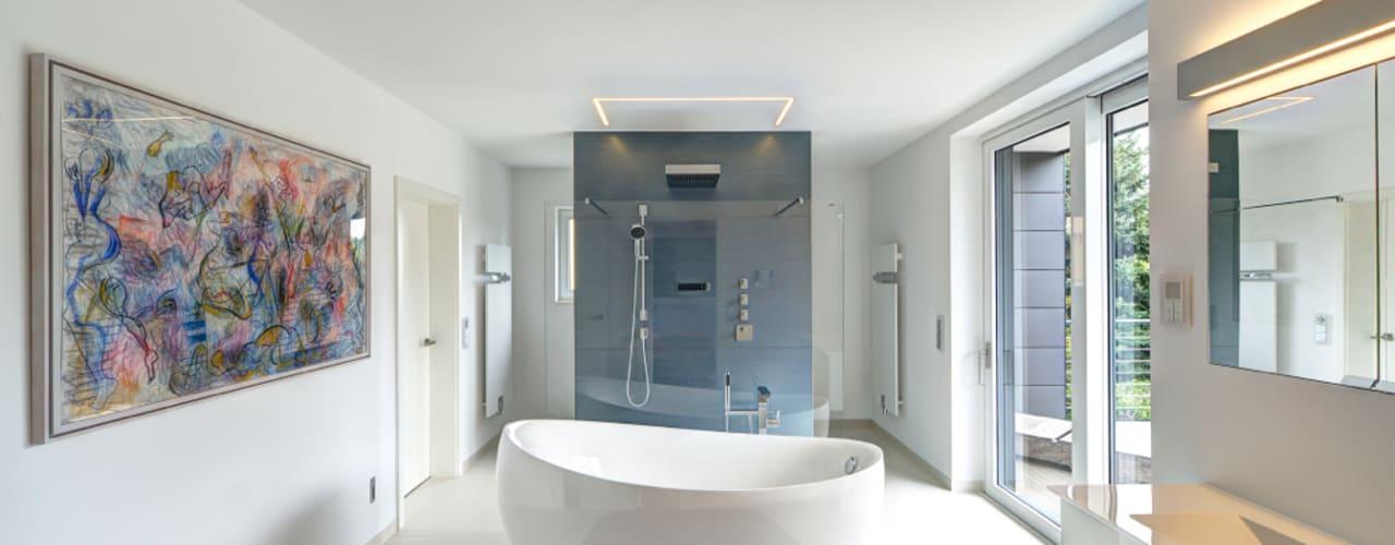 Bathroom by Innenarchitektin Katrin Reinhold,
