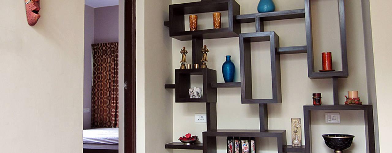 Subramanian Residence Salas de estilo moderno de Cozy Nest Interiors Moderno