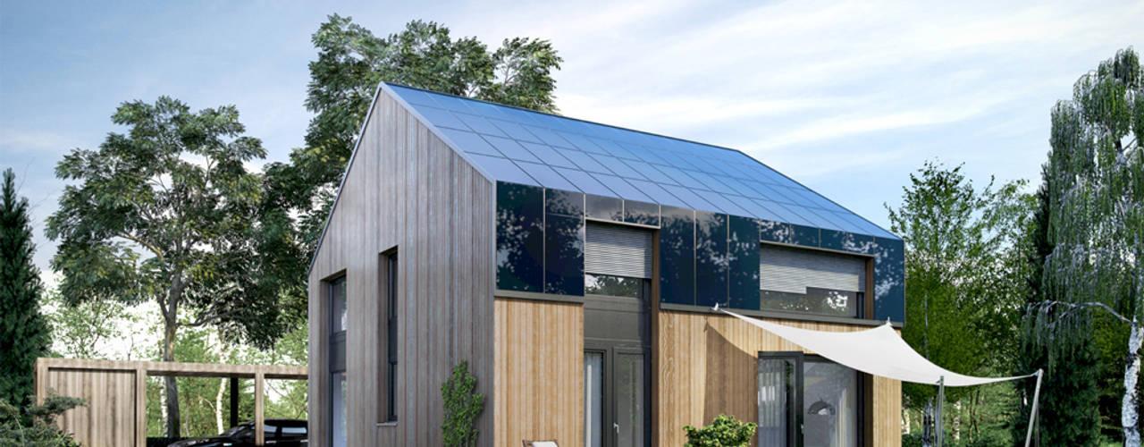 Casas de estilo moderno de ecohome 4.2 Moderno