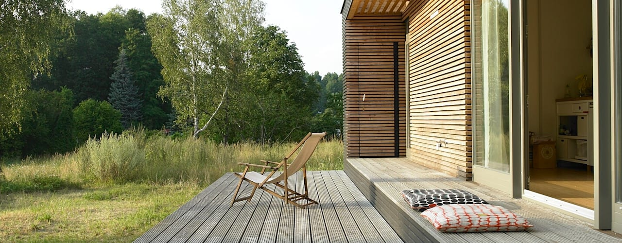 de SOMMERHAUS PIU - YES WE WOOD Escandinavo