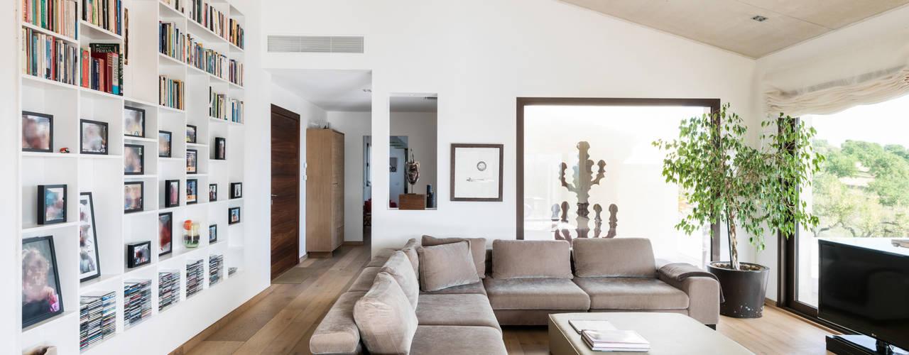 Salon de style  par margarotger interiorisme