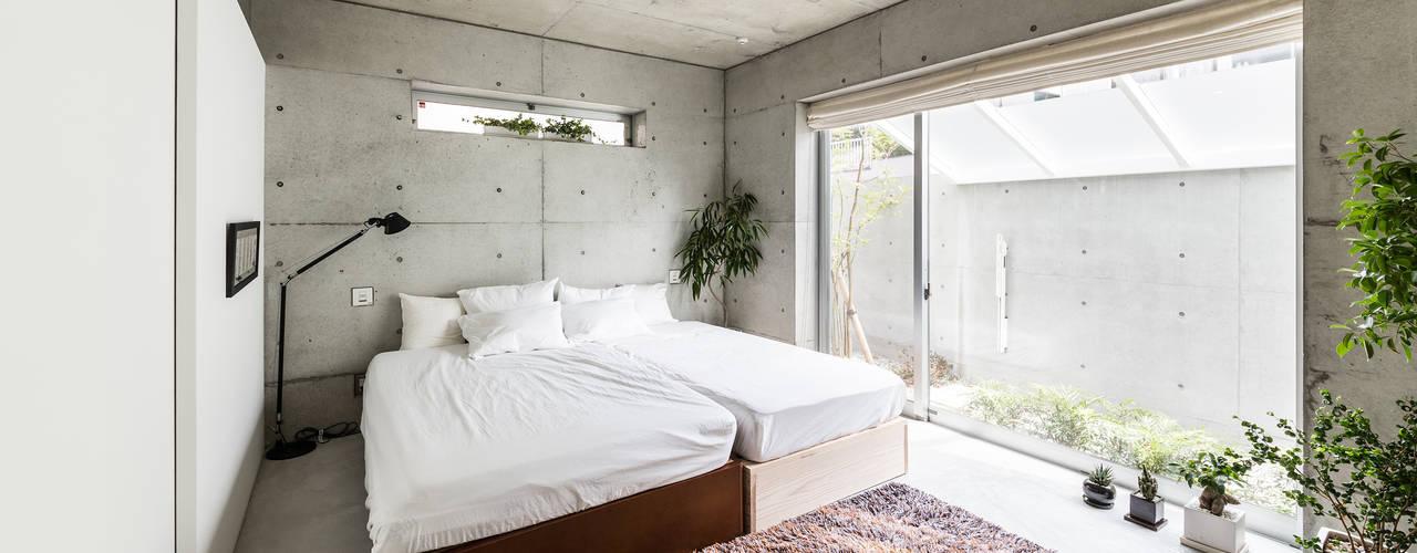 모던스타일 침실 by Kenji Yanagawa Architect and Associates 모던