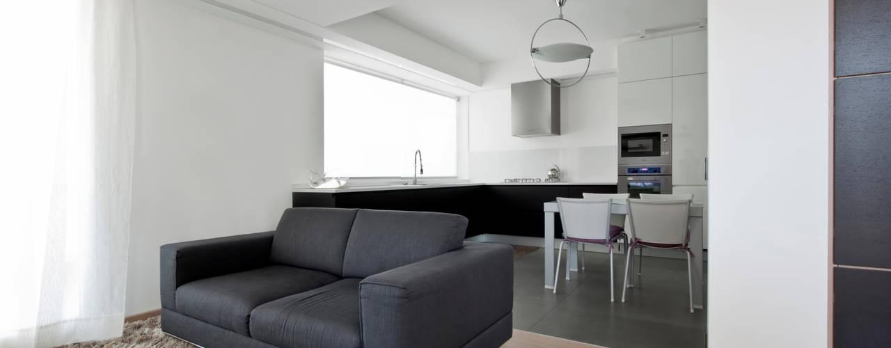 Laboratorio di Progettazione Claudio Criscione Design Ruang Keluarga Modern