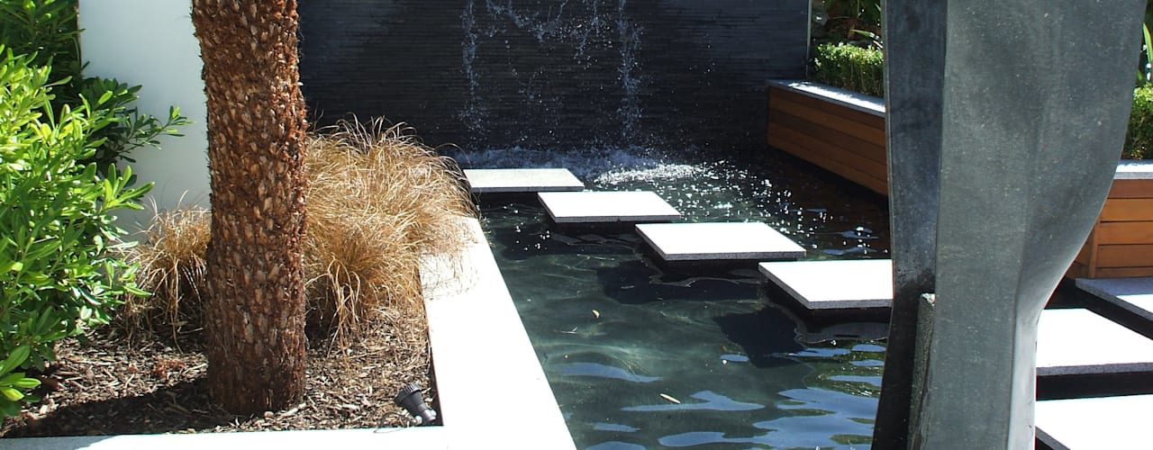 "A Contemporary ""Oasis"":  Garden by Kevin Cooper Garden Design"