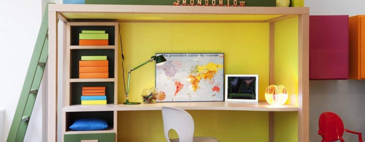 Aussergewöhnliche Hochbetten Moderne Kinderzimmer von MOBIMIO - Räume für Kinder Modern