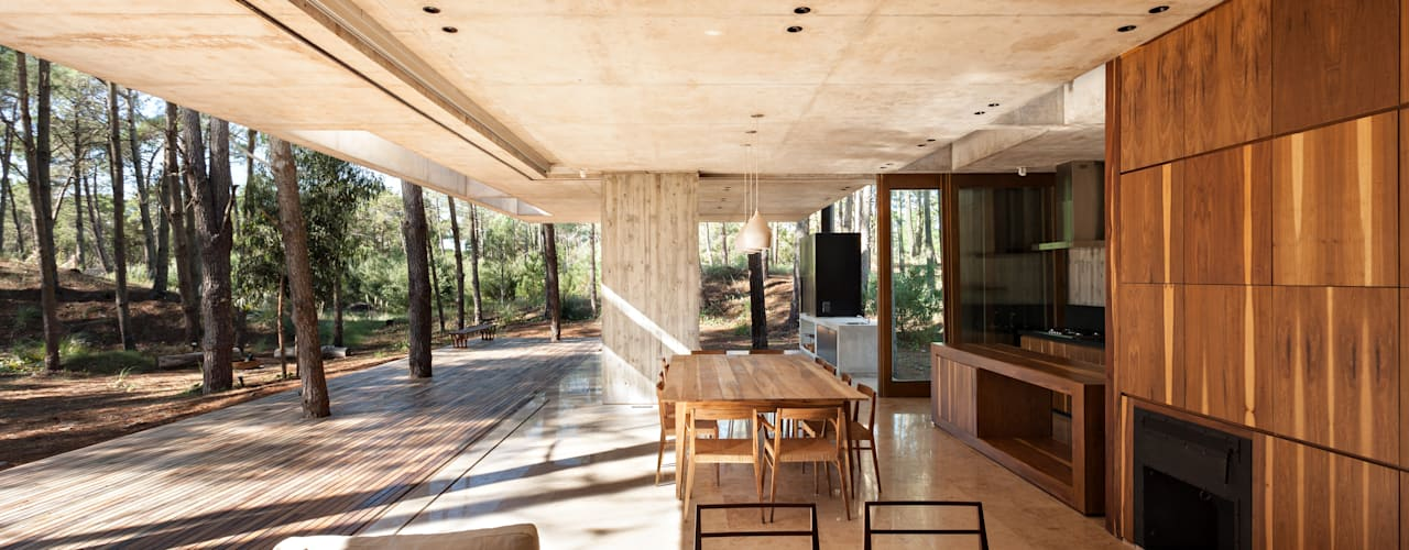 Salon moderne par ATV Arquitectos Moderne