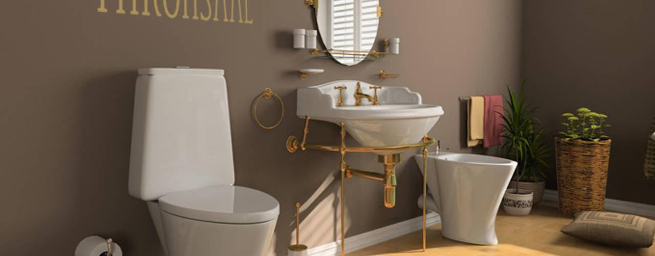 Salle de bain de style  par K&L Wall Art