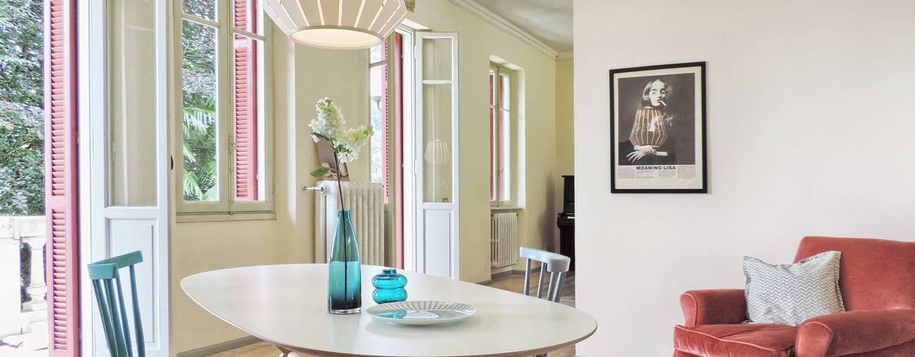 Projekty,  Jadalnia zaprojektowane przez Boite Maison