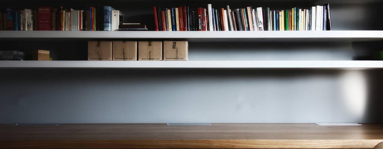 Estudios y despachos de estilo  por Flavia Benigni Architetto