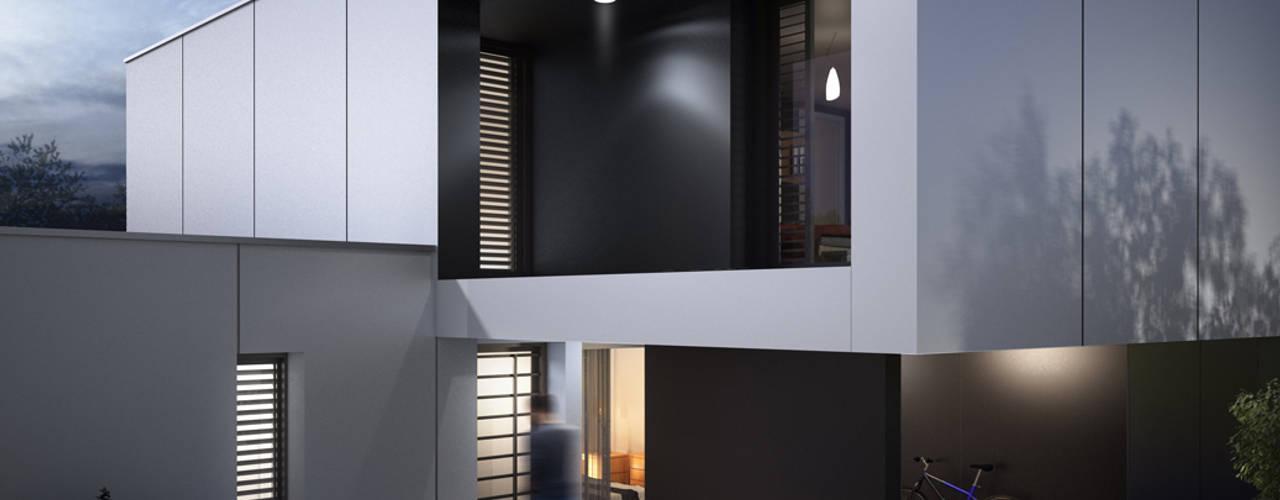 Casas estilo moderno: ideas, arquitectura e imágenes de ad architecture Moderno
