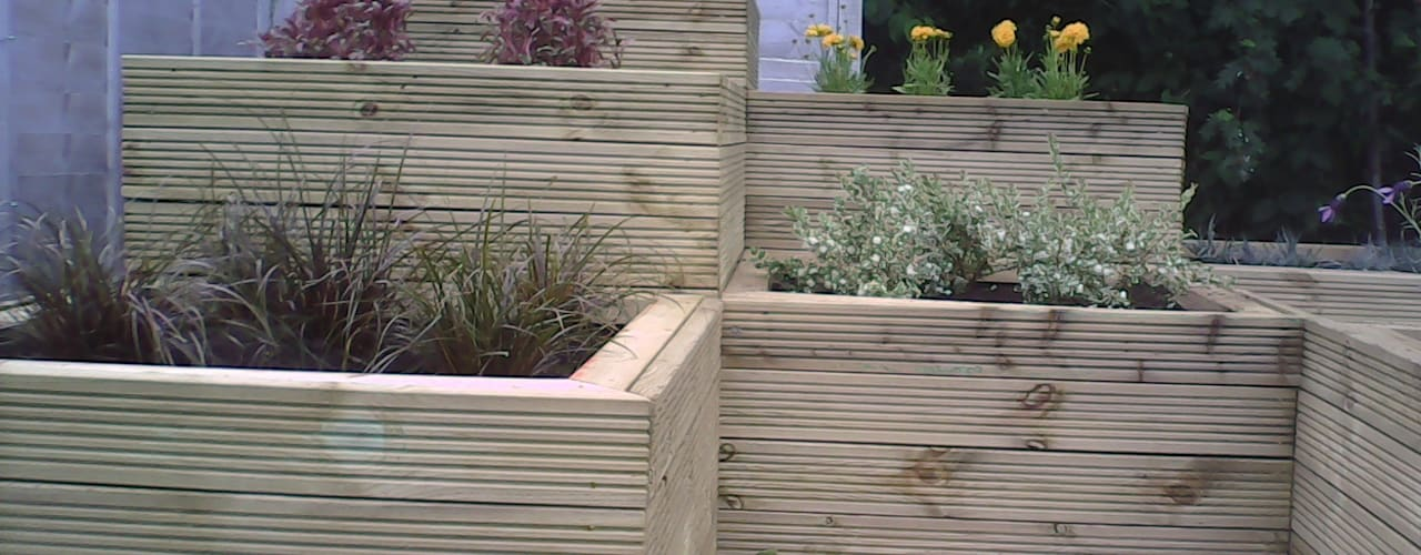 Werrington Peterborough: minimalist  by SD GARDEN DESIGNS, Minimalist