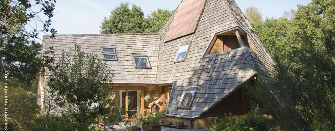 Projekty,  Domy zaprojektowane przez Jean-Charles CASTRIC - architecte D.P.L.G.