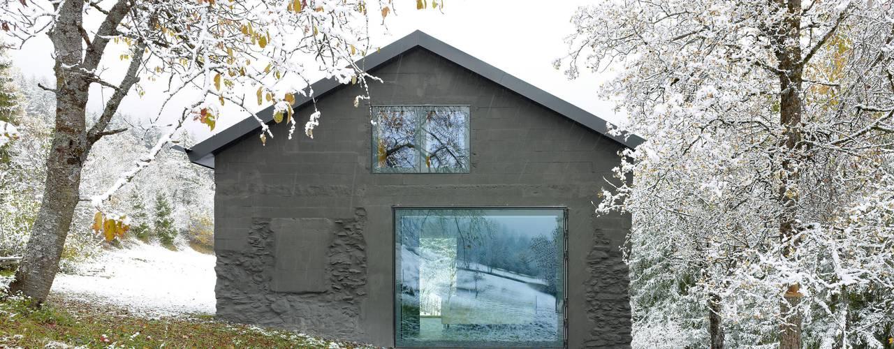 Huizen door savioz fabrizzi architectes,