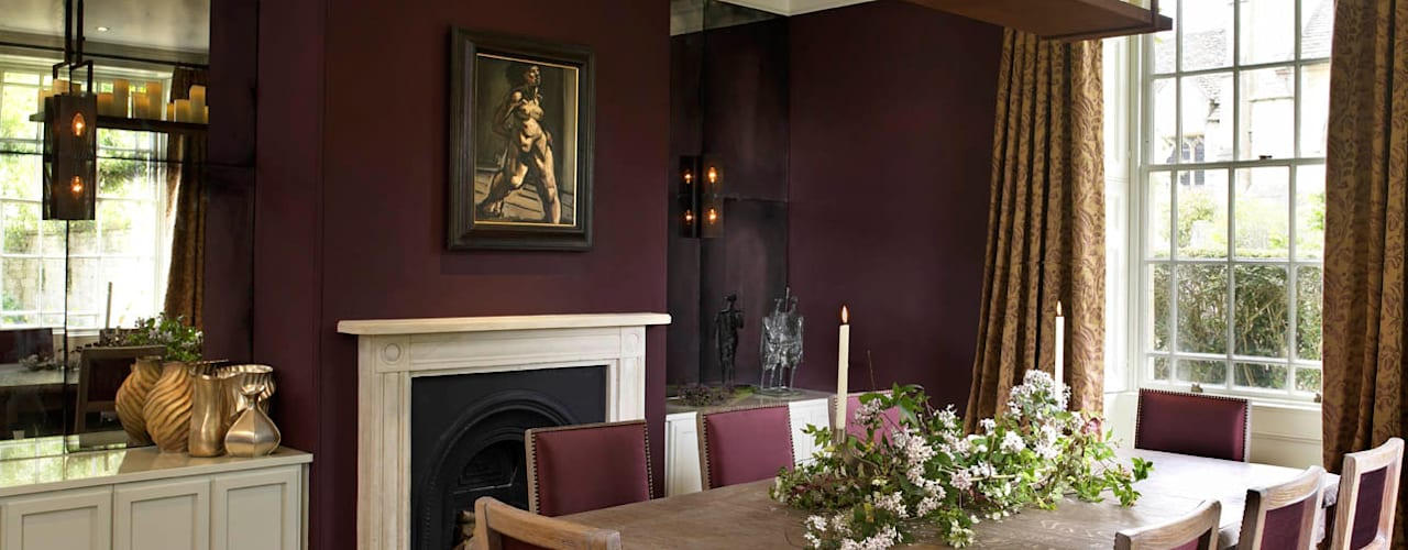 The Wilderness, Wilshire Salle à manger originale par Concept Interior Design & Decoration Ltd Éclectique