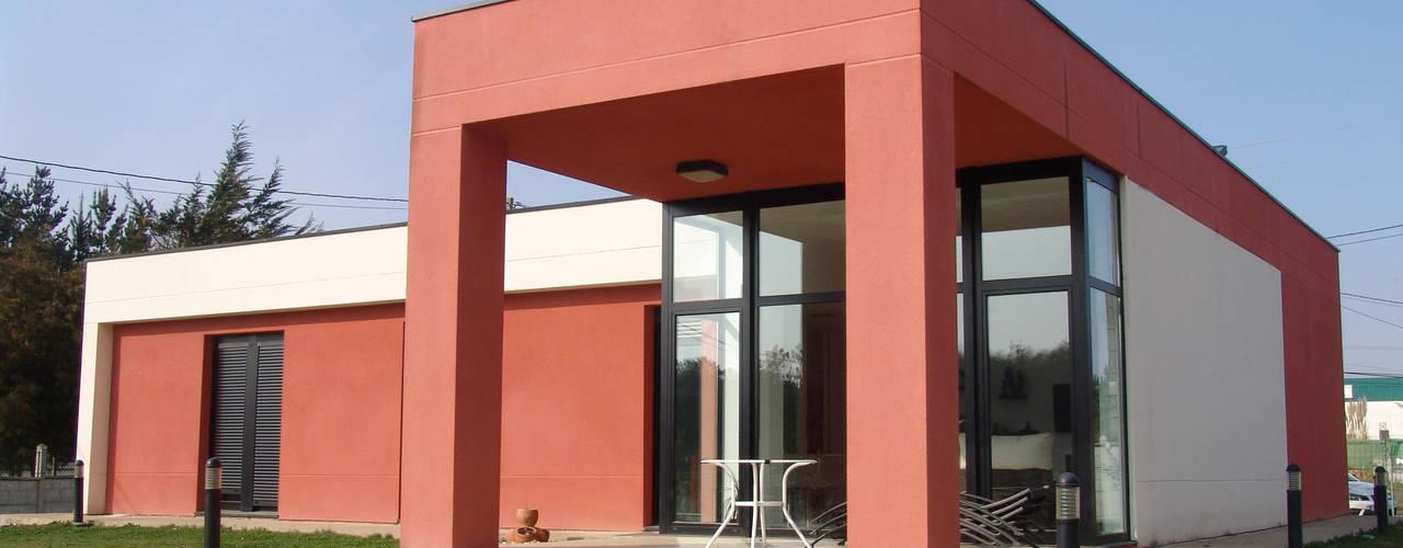 KM Arquitectos Casas modernas