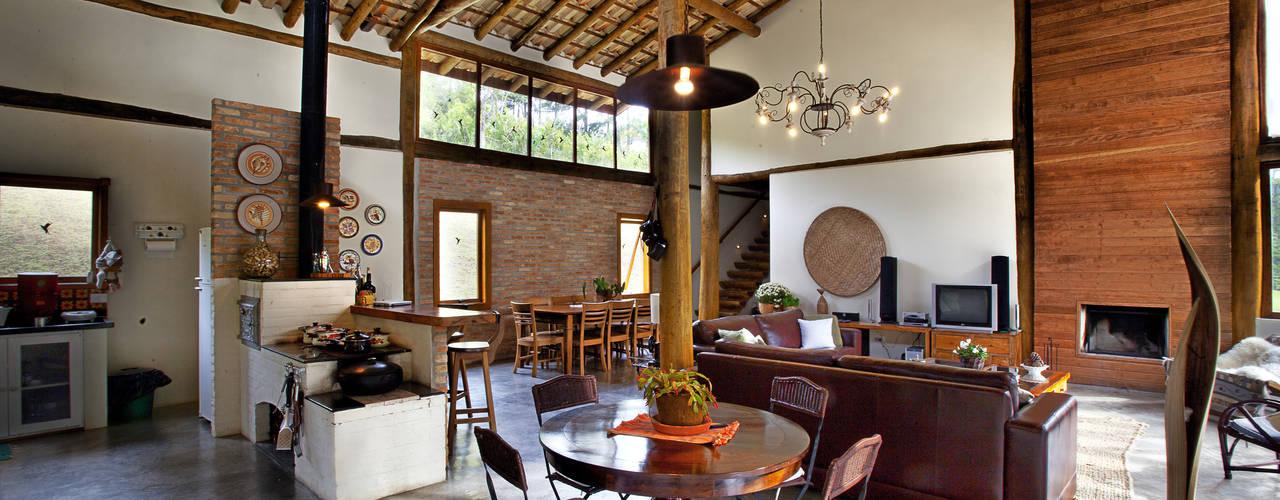 Bianka Mugnatto Design de Interiores: rustik tarz tarz Evler