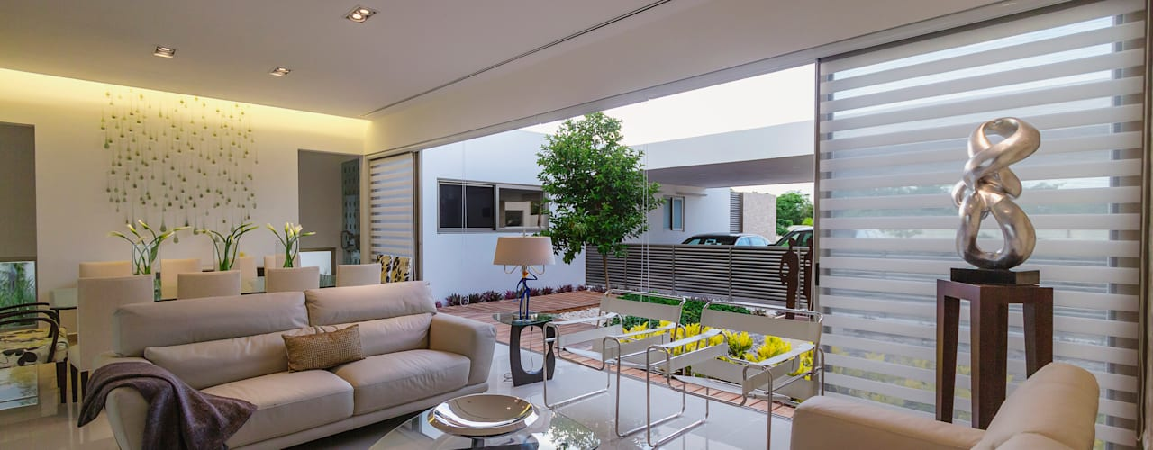 Living room by Grupo Arquidecture