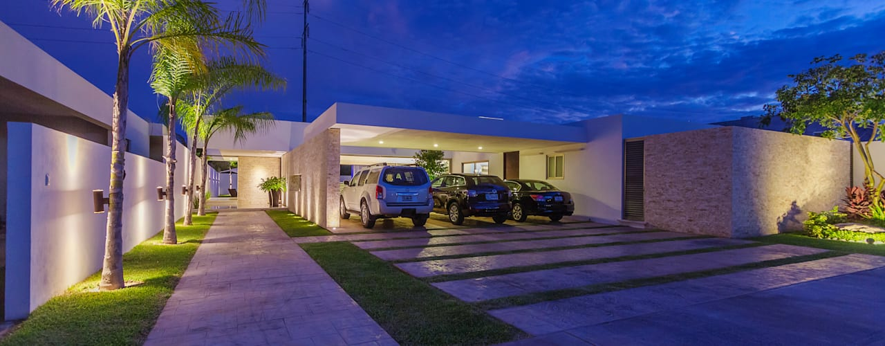 Carport by Grupo Arquidecture, Modern