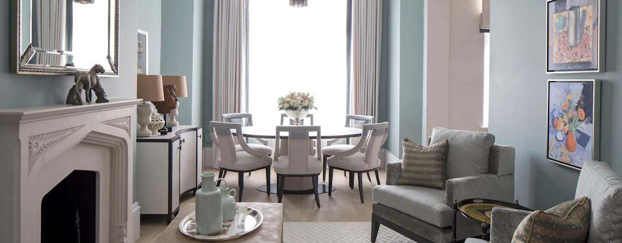 The Bromptons: Chelsea Roselind Wilson Design Classic style living room