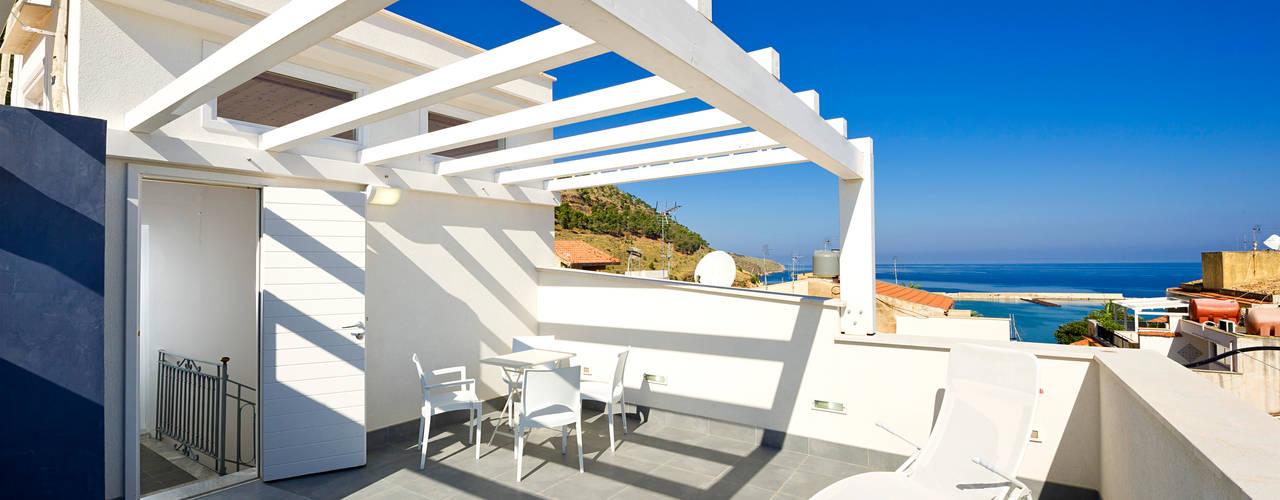 Projekty,  Dach pulpitowy zaprojektowane przez Giuseppina PIZZO