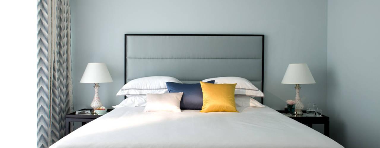 Cornwall Penthouse: Regents Park Dormitorios clásicos de Roselind Wilson Design Clásico