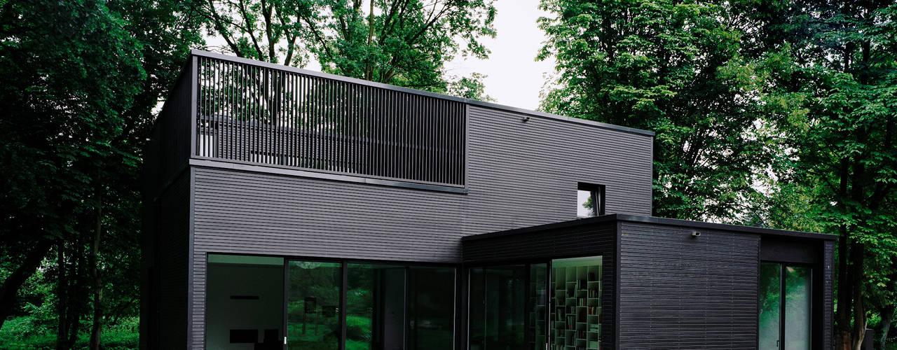 Minimalist house by IOX Architekten GmbH Minimalist