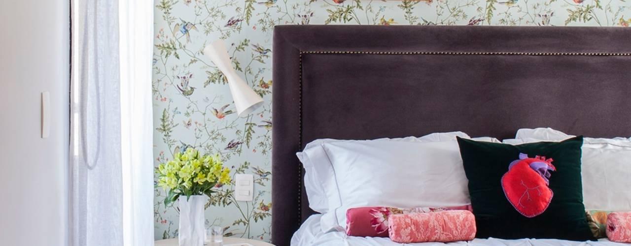 Bedroom by Mauricio Arruda Design, Eclectic