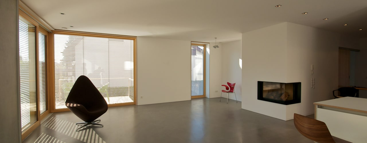 Гостиная в стиле модерн от Udo Ziegler | Architekten Модерн