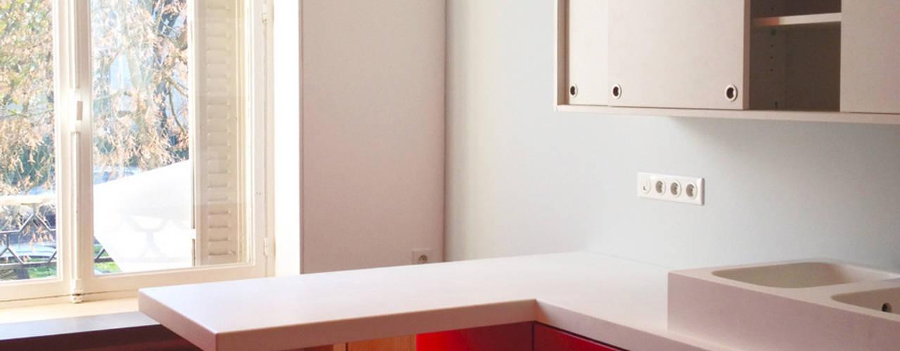 Кухни в . Автор – 3B Architecture