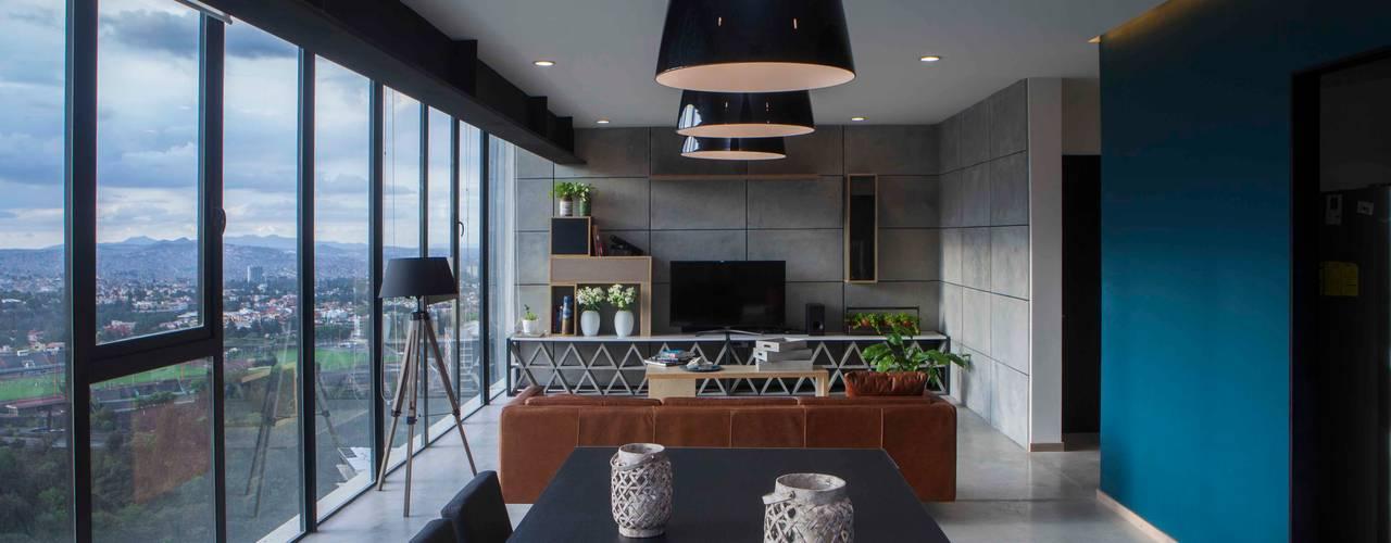 Sala da pranzo in stile  di Taller David Dana Arquitectura, Moderno