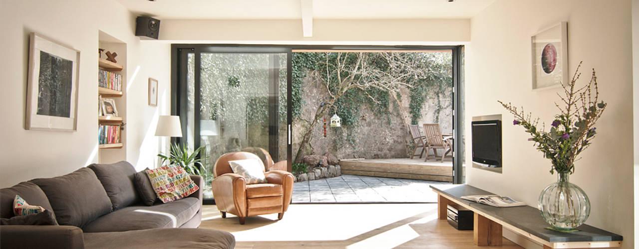 Headlands Cottage Salon moderne par Barc Architects Moderne