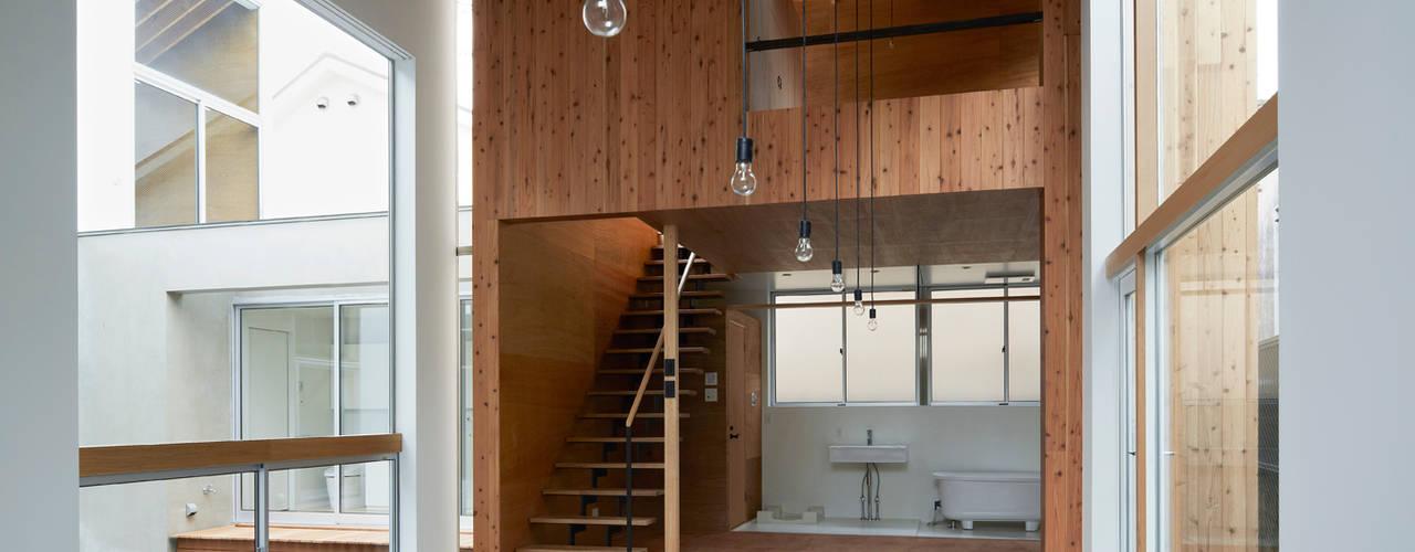 桜台の家: 鈴木淳史建築設計事務所が手掛けた和室です。