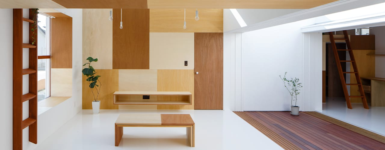 Idokoro by ma-style architects Minimalist