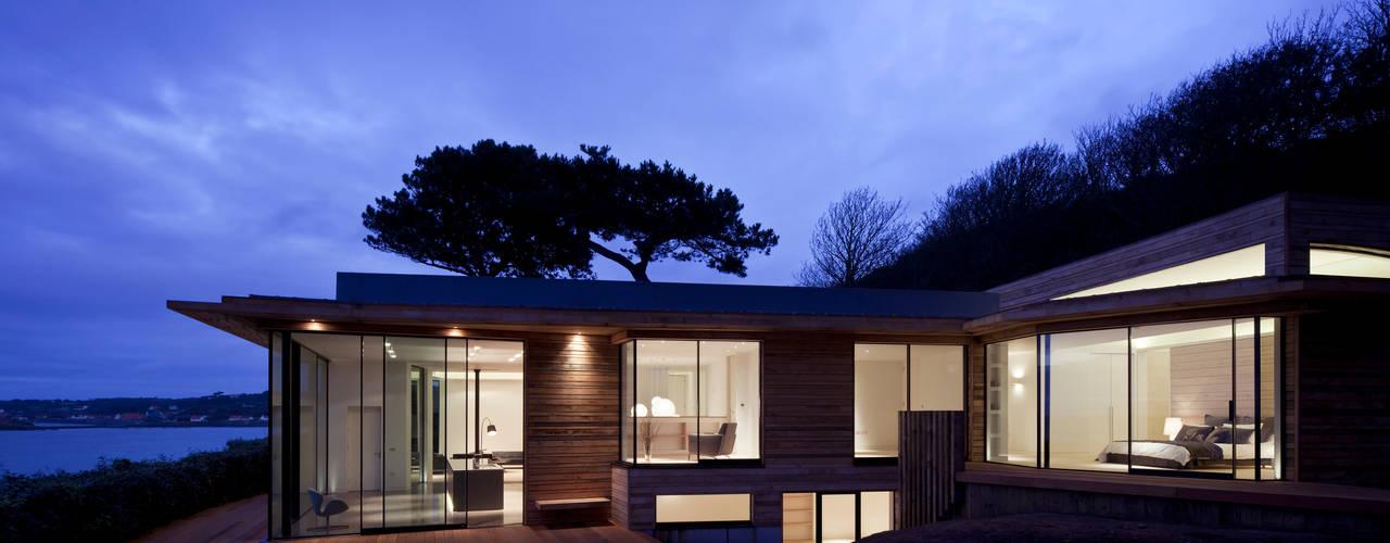 Le Portelet Modern terrace by JAMIE FALLA ARCHITECTURE Modern
