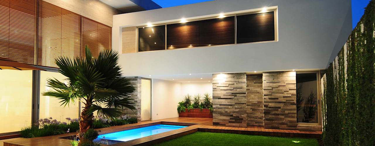 Houses by ze|arquitectura, Modern