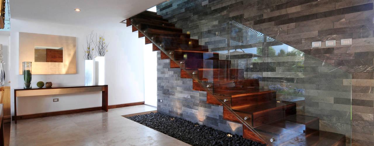 Corredores e halls de entrada  por ze|arquitectura , Moderno