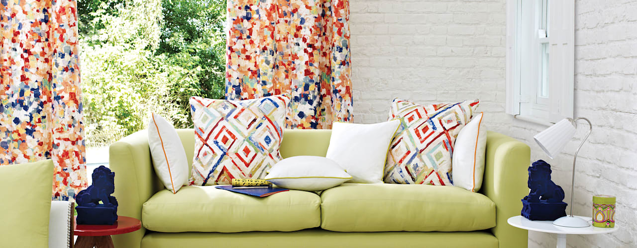 Printworks Livings modernos: Ideas, imágenes y decoración de Prestigious Textiles Moderno