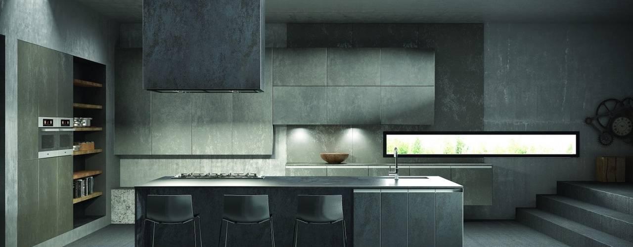 Deseo - Helix Terra Modern kitchen by Deseo Modern
