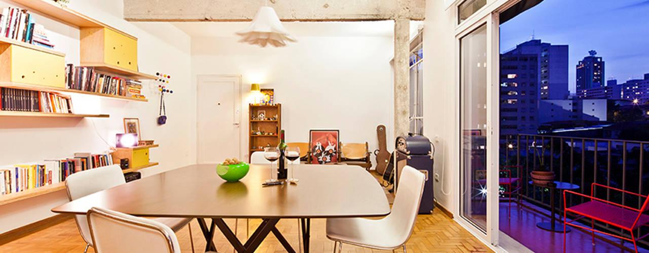 Comedores de estilo  por Zoom Urbanismo Arquitetura e Design