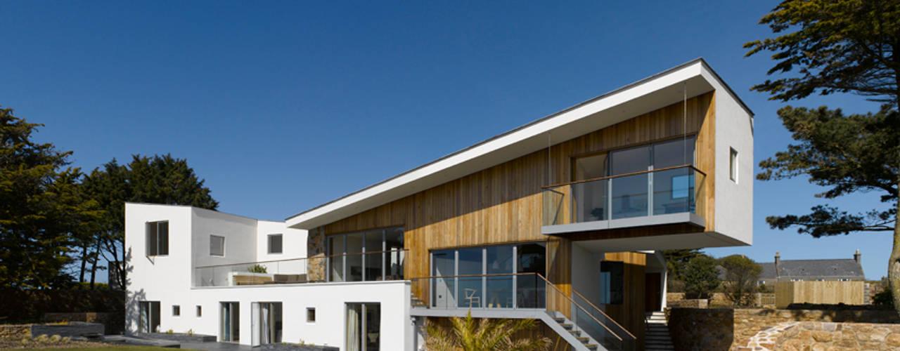 Jersey House Modern houses by Hudson Architects Modern