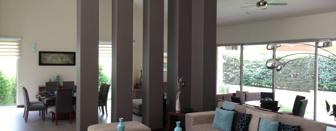 Club de Golf Santa Anita: Salas de estilo  por Arki3d, Moderno