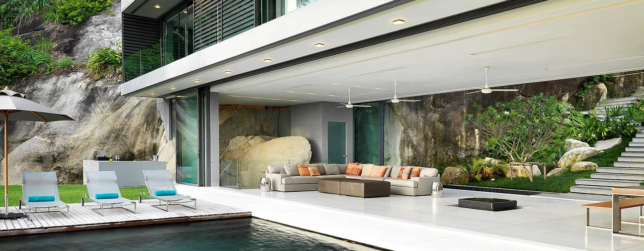 Moderne zwembaden van Original Vision Modern
